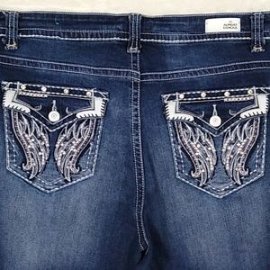 Almost Famous Jeans size 18
